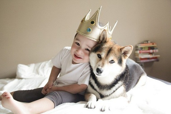 babies-with-dog- (6)