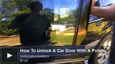 how-to-unlock-a-car-with-a-potato-