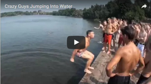 crazy-guys-jumping-into-water-