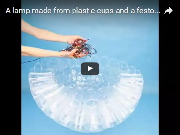 lamp-made-from-plastic-cups-
